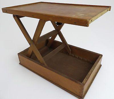 sparen25.infoHistorischer Holz Projektortisch Projektorablage, höhenverstellbare Ablage bl070sparen25.com