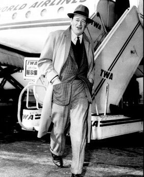 TWA airline to the stars - John Wayne