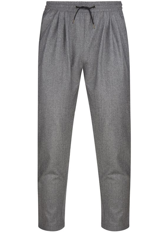 AW16 Flannel Casual Joyce Pant in Grey