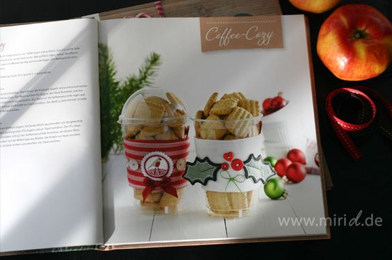 "Coffee Cozy aus dem Buch ""Nähen für Weihnachten"" / Coffee Cozy from the book ""Sewing for Christmas"" (TOPP 6414)"