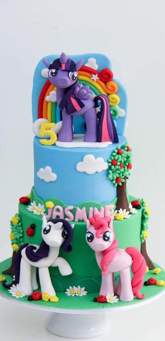 Southern Blue Celebrations My Little Pony Cakes