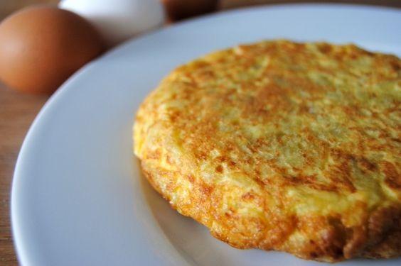 Tortilla de patatas ¡en el microondas!