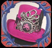 A mon seul desir : Catalogue des Mini Chapeaux Steampunk, Gothiques, Fascinator, Victoriens ...