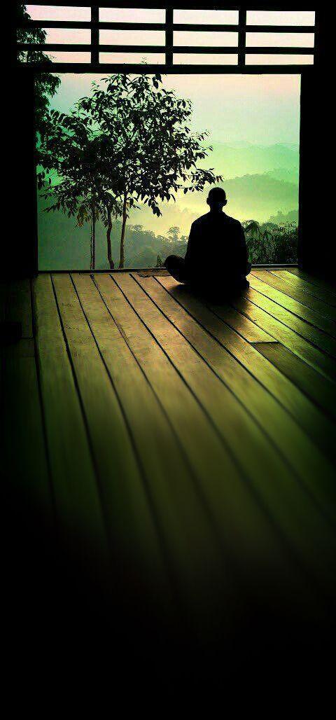 """♥ Möchtest du dein Leben verändern? Sitze in Stille. """"Stille ist eine Quelle für große Stärke.! Lao Tzu ♥ Want To Transform Your Life? Sit In Silence. """"Silence is a source of great strength."""" Lao Tzu"""