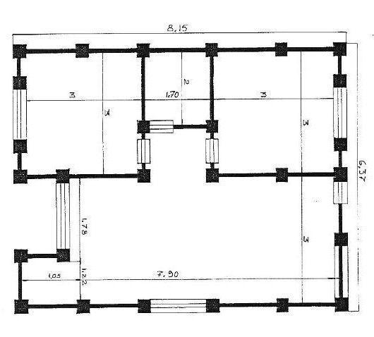 Planos De Estructuras Y Cimentaciones Jpg 530 478 Planos De Cimentacion Planos De Casa Unifamiliar Planos De Casa De Dos Pisos