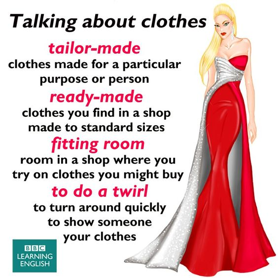 Talking about Clothes