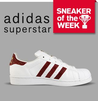 Adidas Superstars Weinrot