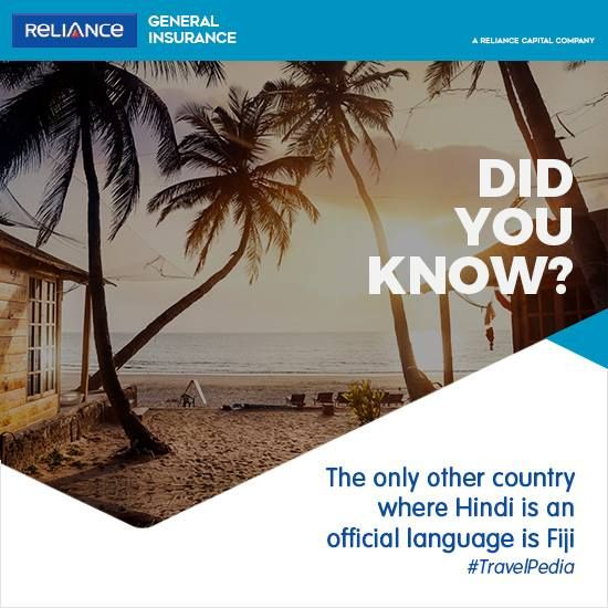 Reliance General Travel Insurance Presents Travelpedia Fun Facts