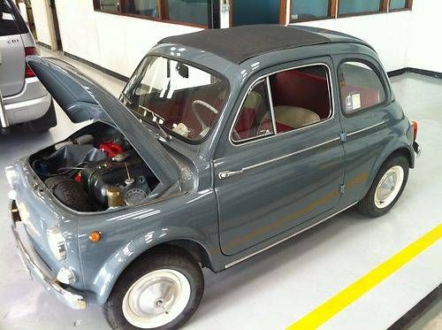 original fiat 500 suicide doors rare for sale 1964 fiat 39 s mini 39 s vw and other things. Black Bedroom Furniture Sets. Home Design Ideas