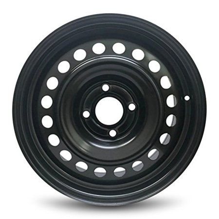 Road Ready Replacement Black Steel Wheel Rim 16 For 2007 2012 Nissan Sentra 4 Lug Walmart Com Black Steel Wheels Replacement Wheels Nissan Sentra