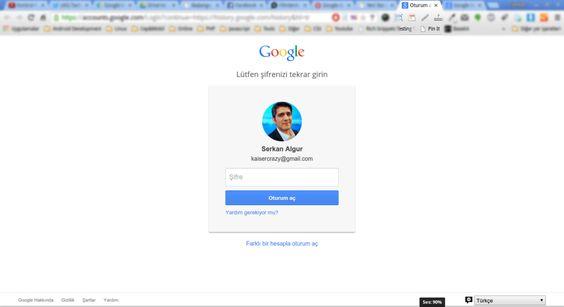 google-history-giris