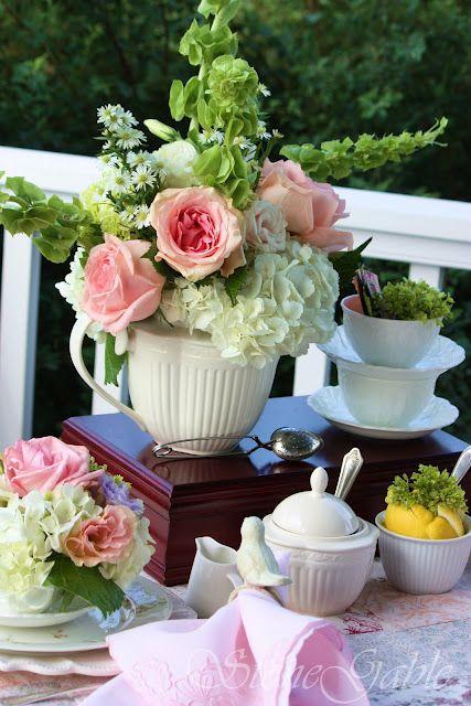Evening Tea On The Deck