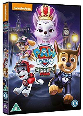 Paw Patrol Mission Paw Edizione Regno Unito Reino Unido Dvd Amazon Es Cine Y Series Tv Logotipos De Superheroes Bano De Batman Patrulla De Cachorros