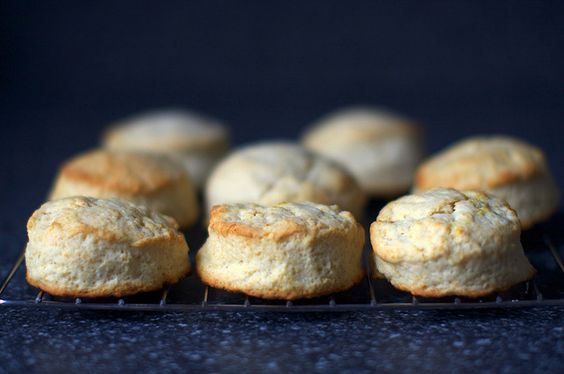 cream biscuits by smitten, via Flickr, these freeze well. bake from frozen a few extra minutes.