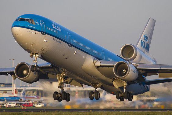 KLM MD-11 departure | Flickr - Photo Sharing!