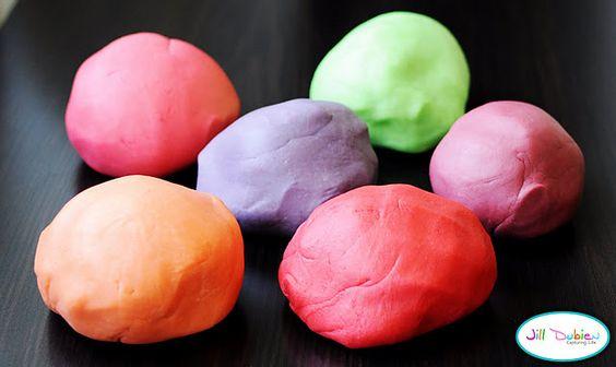 Kool-Aid Play-Doh  Make it at home.