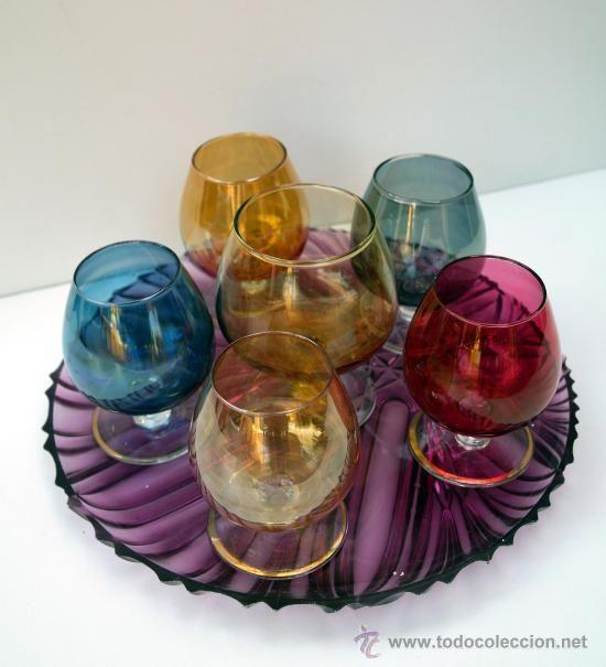 47+ Copas de vidrio de colores trends