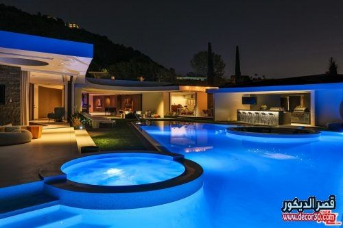واجهات فلل حديثة في الامارات قصر الديكور Mansions Mansions Luxury Modern House