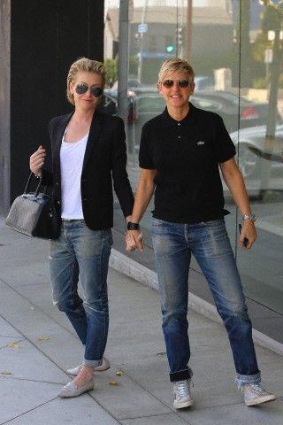 Portia de Rossi has great style!
