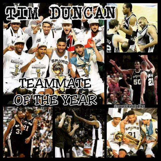 Don't see how anyone else could beat our Timmy! #Spursfanforlife #GOSPURSGO #RaceforSeis #GOAT