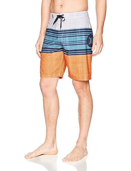 Hurley Mens Supersuede Printed 20 Inch Boardshort Swim Short