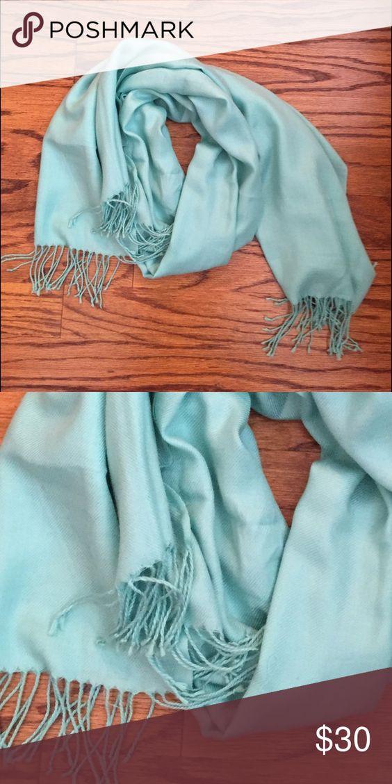 Light blue pashmina scarf Light blue pashmina scarf Accessories Scarves & Wraps