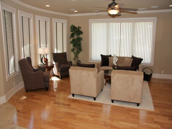 Como decorar un cuarto grande recamara pinterest - Como decorar una habitacion rustica ...
