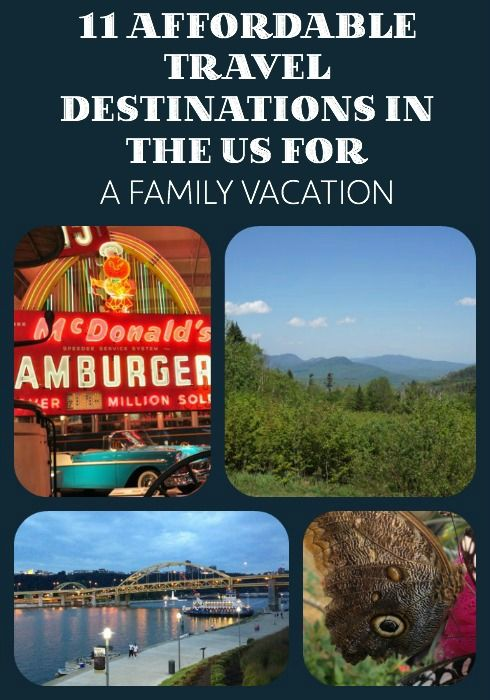 Affordable Travel Destinations in the US for a Family Vacation