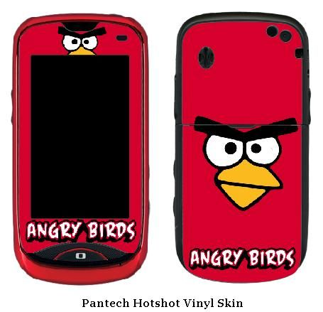 Angry Birds Pantech Hotshot Vinyl Skin #1