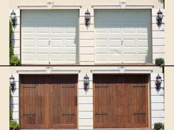 Pinterest the world s catalog of ideas for Garage door refacing