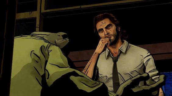 Bigby! I know I don't look human...: