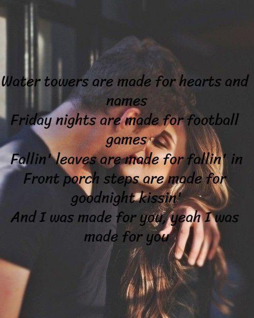 Jake Owen Made For You Yours Lyrics Jake Owen