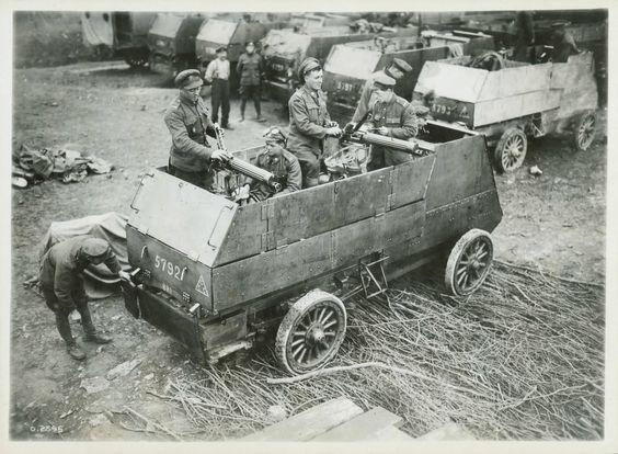 Mobile machine guns