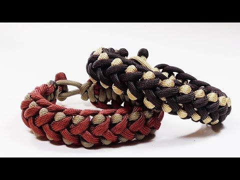 How To Make Scales Crossing Paracord Bracelet Without Buckle