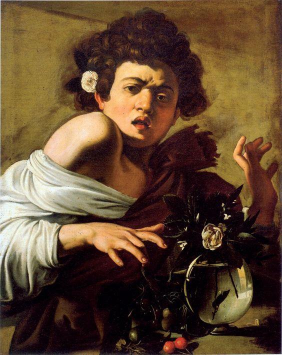 「caravaggio boy bitten pinterest」の画像検索結果