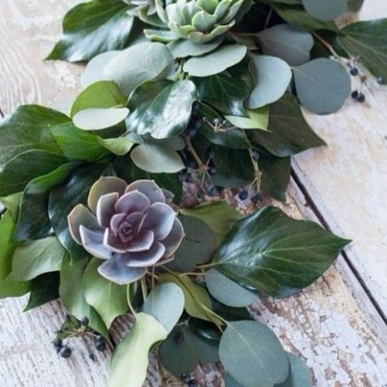 awesome vancouver florist Our deconstructed table garland highlighted with colourful succulents were a big hit this year for weddings and holiday events. Beautiful organic centrepieces. by @greenwithenvyca  #vancouverflorist #vancouverflorist #vancouverwedding #vancouverweddingdosanddonts