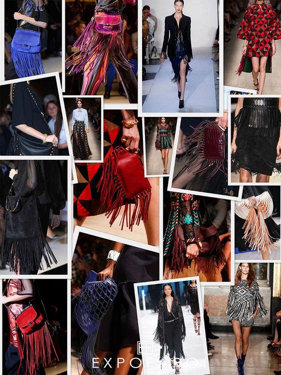 Los accesorios con flecos son una muy buena opción para llevar esta tendencia. En esta ocasión te mostramos las carteras que Gucci tiene para esta temporada, las cuales se caracterizan por tener mucho color, movimiento y texturas.