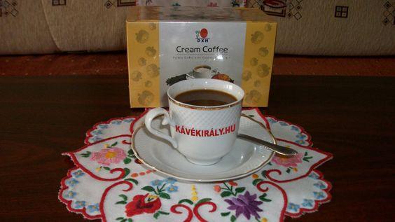 DXN Cream Coffee: cukormentes tejeskávé Ganodermával