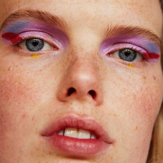 I LOVE @sigridvolders #Makeup #MINJUKIM #SS16: