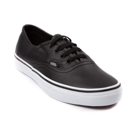 mens vans shoes leather