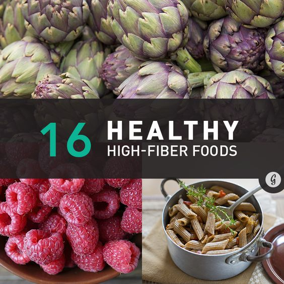 The 16 Most Surprising High Fiber Foods High Fiber Foods Healthy Health And Nutrition