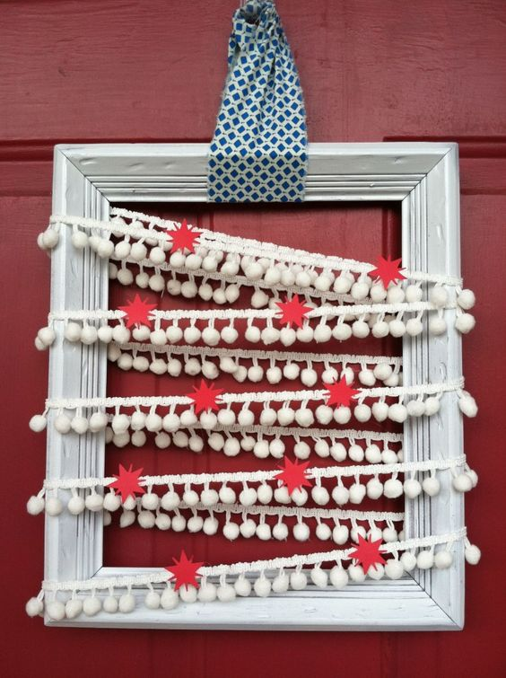 patriotic door decor. #4thofjuly #patriotic