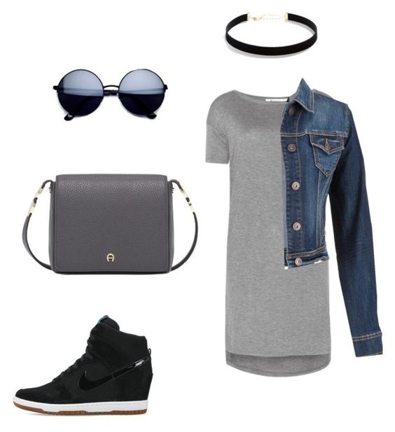 """""""Casua, Formal, Dress"""" by felisialuissela on Polyvore featuring T By Alexander Wang, maurices, LULUS and NIKE"""