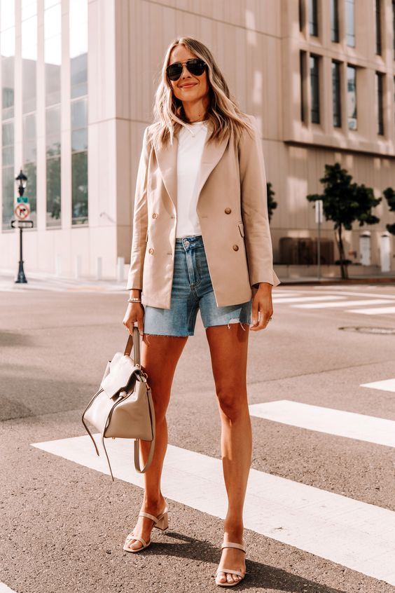 estilo casual com blazer deslumbrante