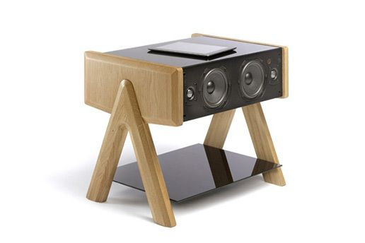 LD Cube HiFi Speaker Coffee Table