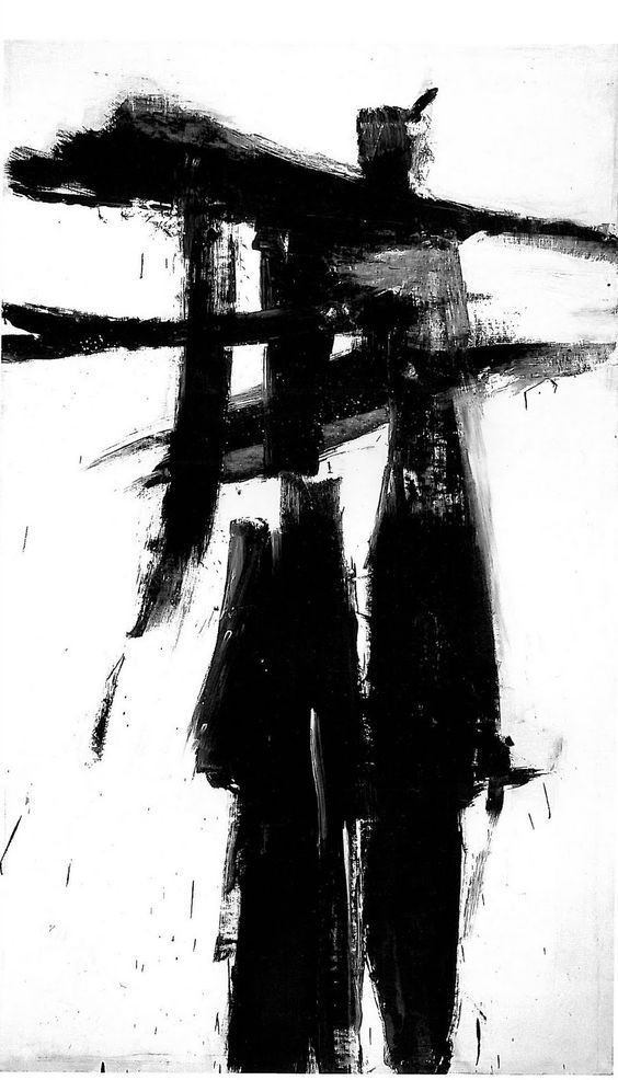 Black And White Abstract Painting By Franz Kline Abstractart Abstractpaintings Bestabstractartwork Black Art Painting Abstract Art Abstract Expressionism
