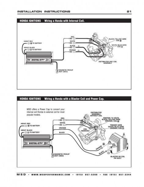 Msd Pn 6520 Wiring Diagram Diagram Wire Msd