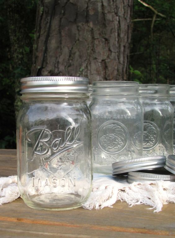 The Best Use Ever for Those Loose Mason Jar Lids :: Events Uncorked