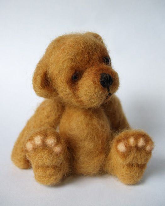 I felt like felting, here is the result: / Needlefelting / Teddy Talk: Creating, Collecting, Connecting