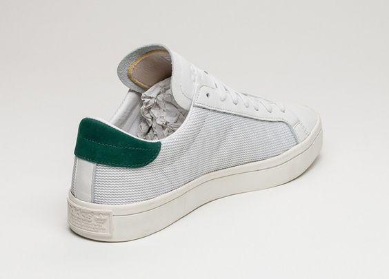 adidas Court Vantage (Vintage White / Chalk White / Green)